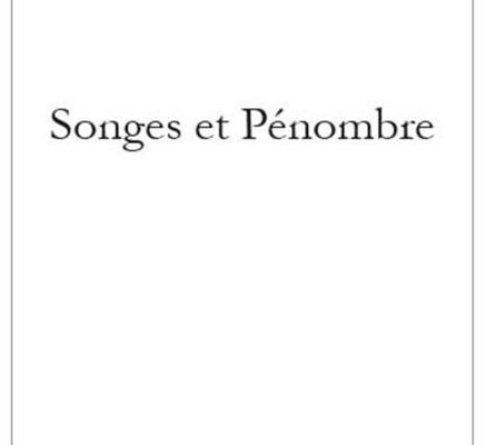 songes et penombre recto